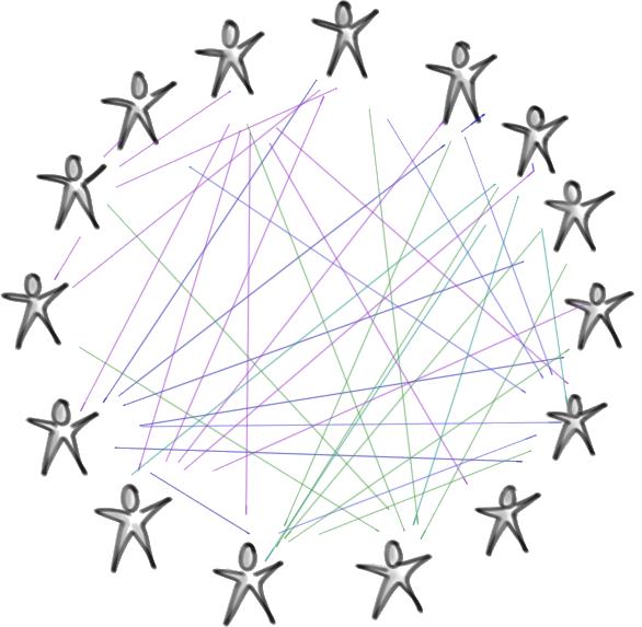 human network circle