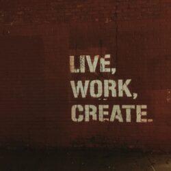 Live, work, create - groups